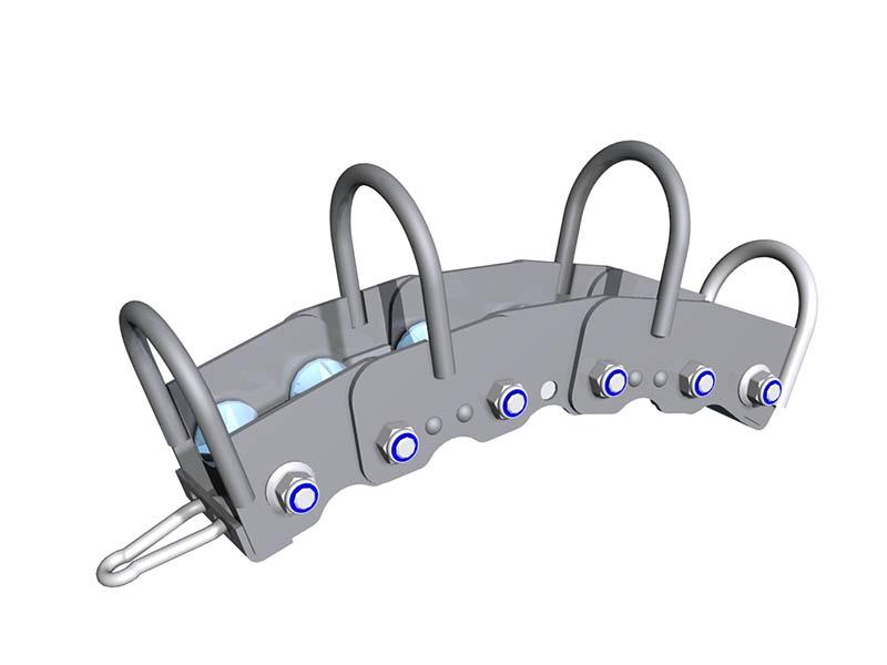 KanRo.eu Roller guide for hose – bottom